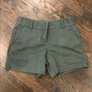 Green LOFT Shorts